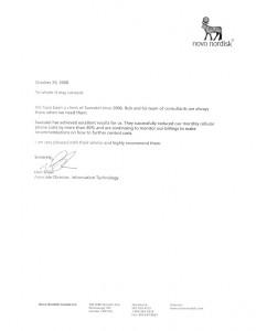 Letter Saveutel Recommendation - Novo